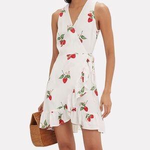NWT Rails Strawberry Madison Wrap Dress XS